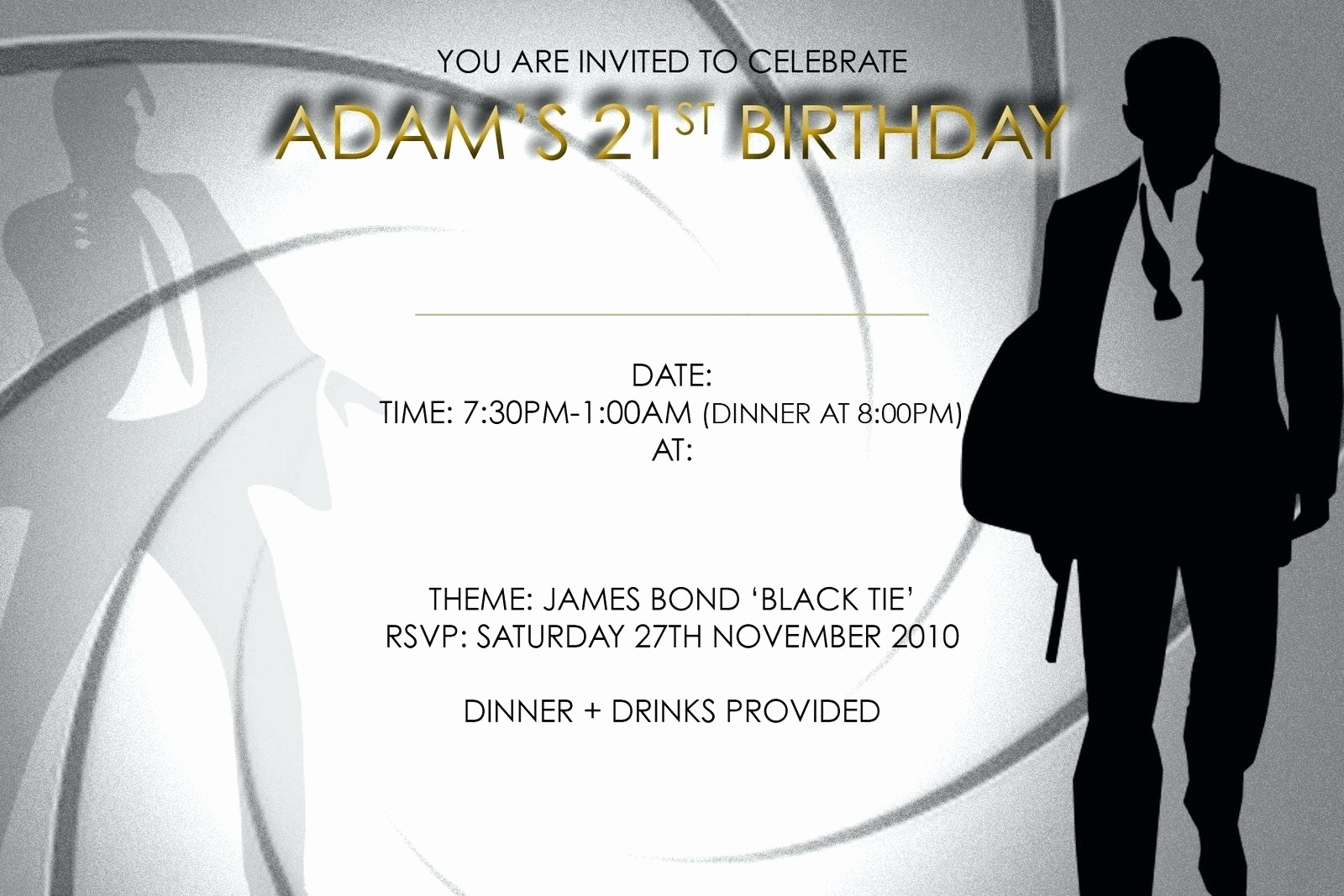21St Birthday Invitation Templates Free Printable Then Template 21St - 21St Birthday Invitation Templates Free Printable