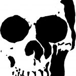 23 Free Skull Stencil Printable Templates | Guide Patterns   Free Printable Airbrush Stencils
