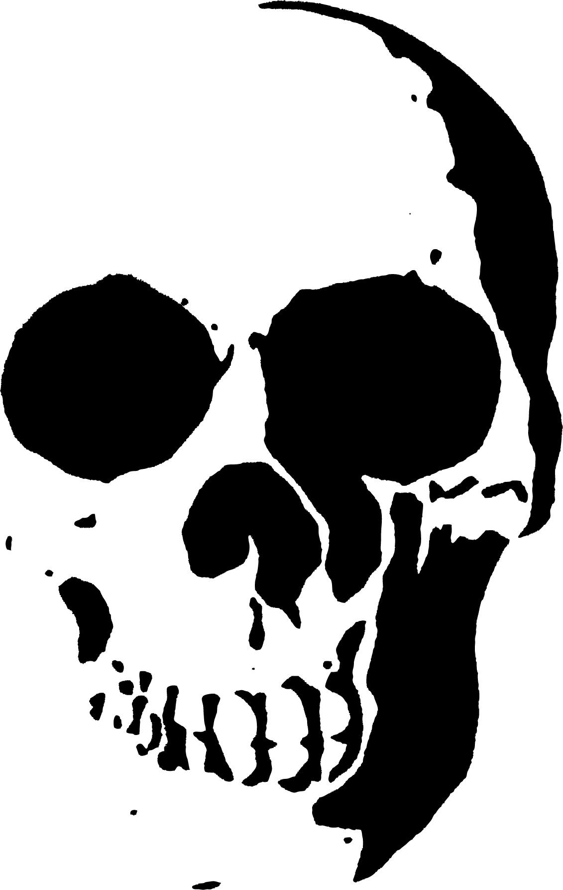 23 Free Skull Stencil Printable Templates | Guide Patterns - Free Printable Stencil Patterns