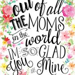 23 Mothers Day Cards   Free Printable Mother's Day Cards   Free Printable Mothers Day Cards To My Wife