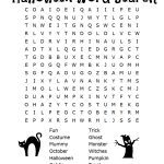 26 Spooky Halloween Word Searches | Kittybabylove   Free Printable Halloween Puzzles