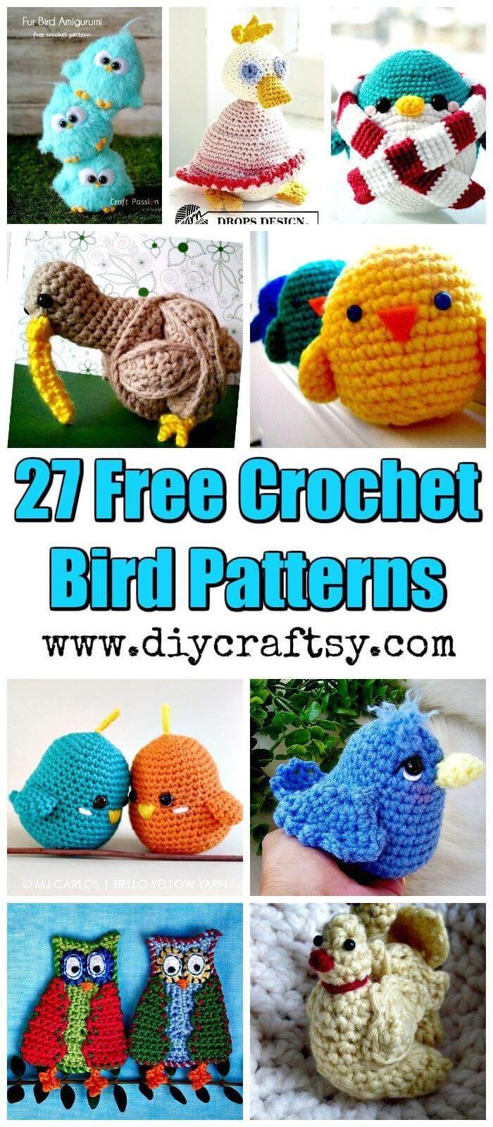 27 Free Crochet Bird Patterns You'll Love - Diy & Crafts - Free Printable Crochet Patterns