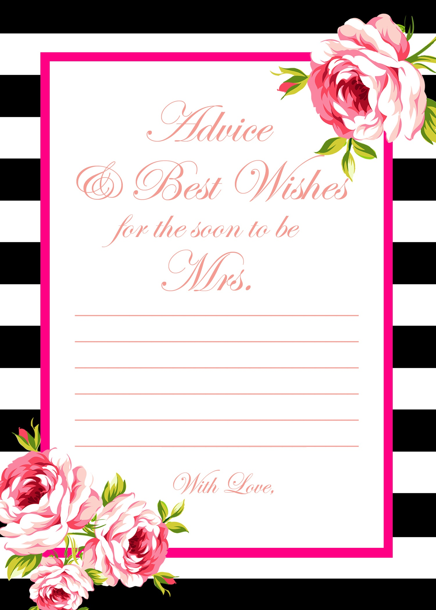 2_Free_Printable_Games Archives - Bridal Shower Ideas - Themes - How Well Do You Know The Bride Free Printable