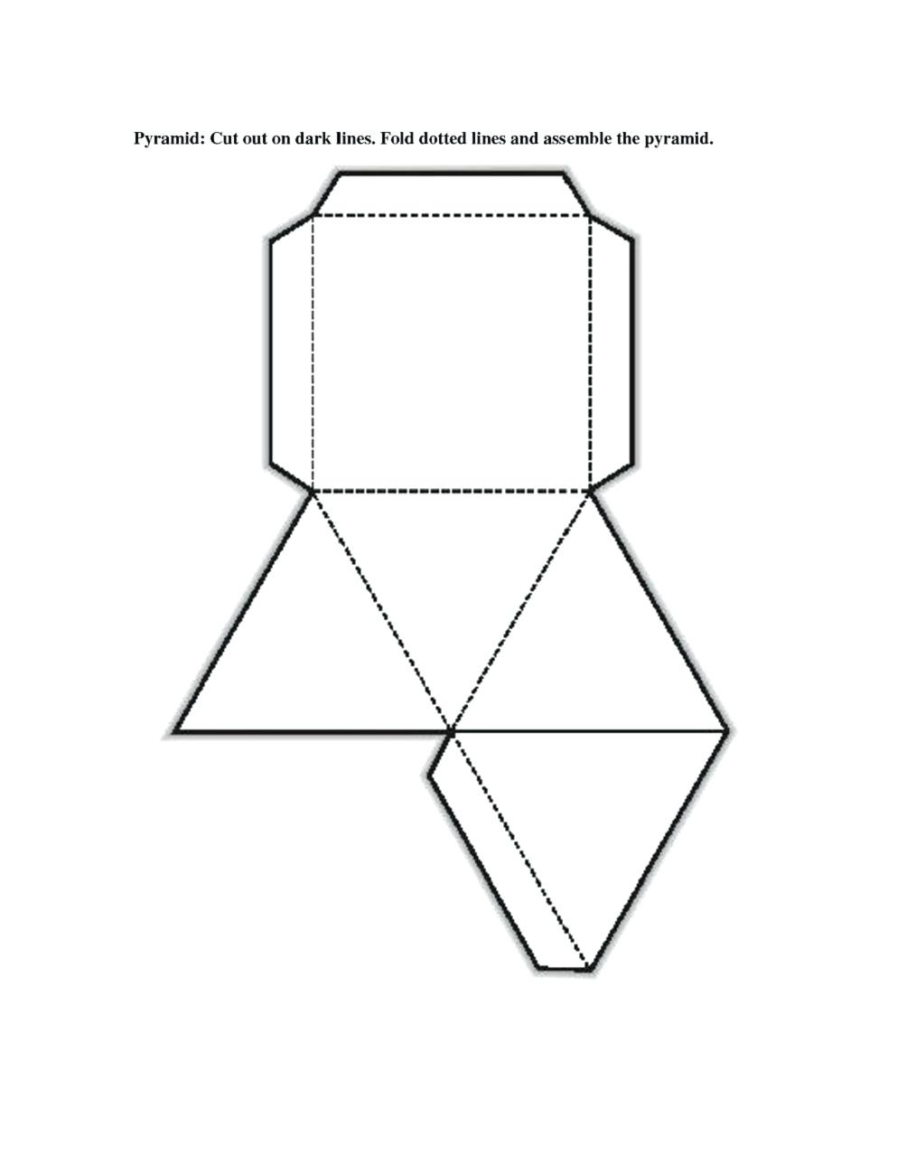 3 D Shape Printables Free Printable Shape Nets Template Learning - Free Printable Shapes Templates