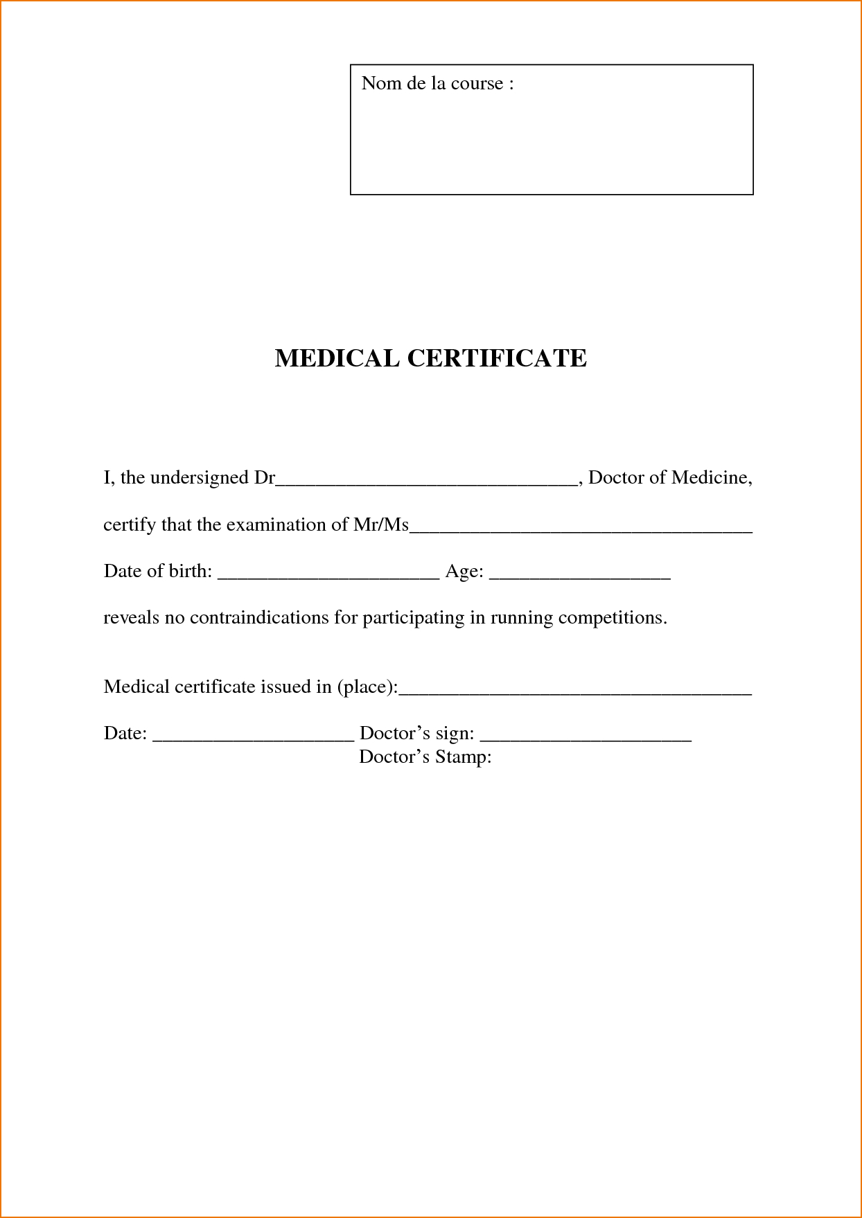 3 Free Doctors Note Template | Teknoswitch - Free Printable Doctors Notes Templates