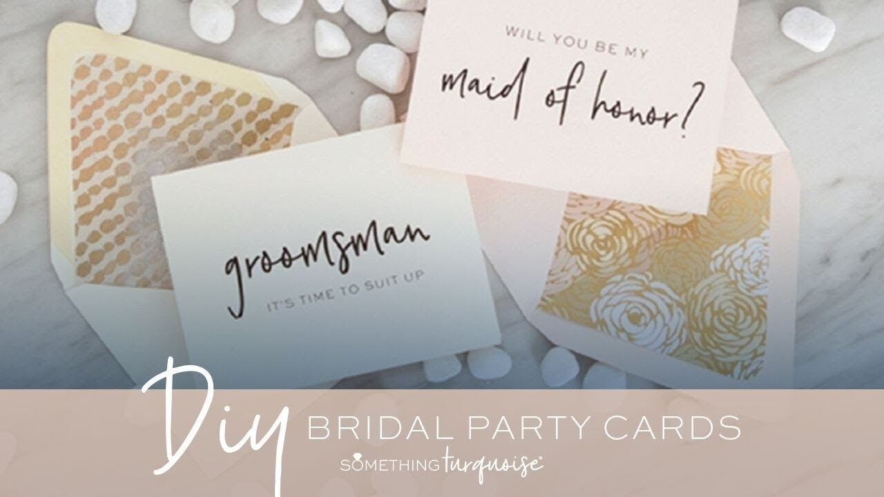 "30+ Free Printable ""will You Be My Bridesmaid?"" Cards! - Youtube - Free Printable Will You Be My Bridesmaid Cards"