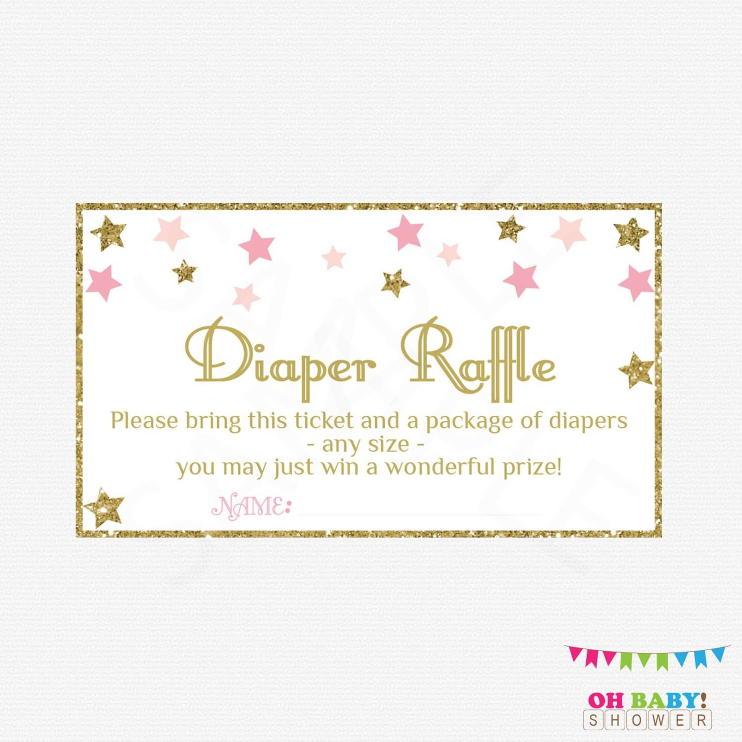 36 Cute Diaper Raffle Tickets | Kittybabylove - Free Printable Diaper Raffle Ticket Template