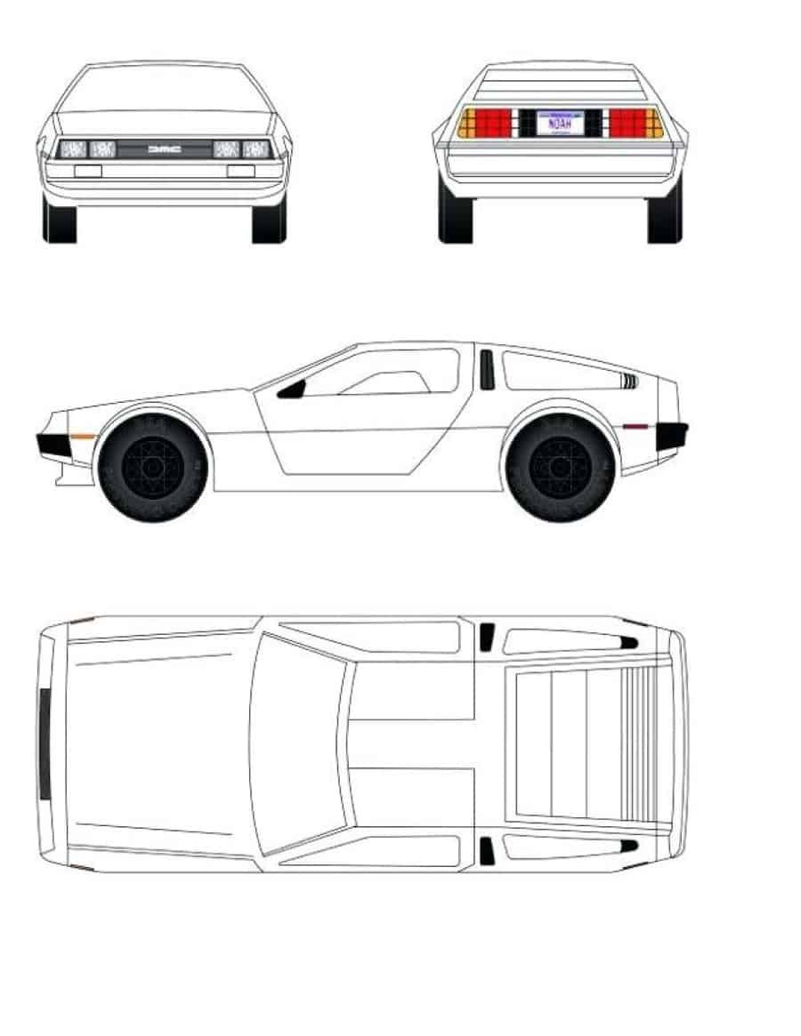 39 Awesome Pinewood Derby Car Designs & Templates ᐅ Template Lab - Free Printable Car Template