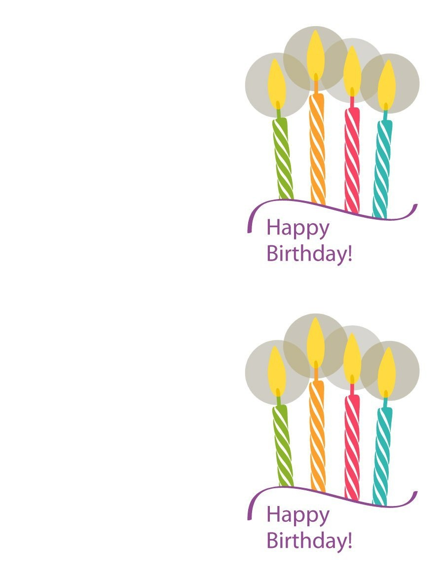 40+ Free Birthday Card Templates ᐅ Template Lab - Free Printable Money Cards For Birthdays