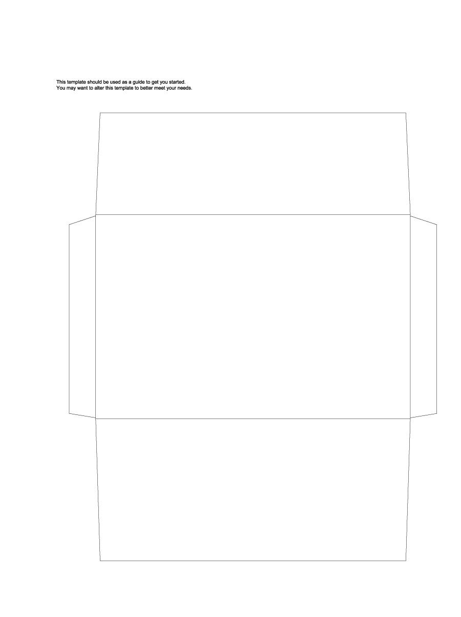 40+ Free Envelope Templates (Word + Pdf) ᐅ Template Lab - Free Printable Envelope Templates