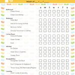 40 Printable House Cleaning Checklist Templates ᐅ Template Lab   Free Printable Cleaning Schedule