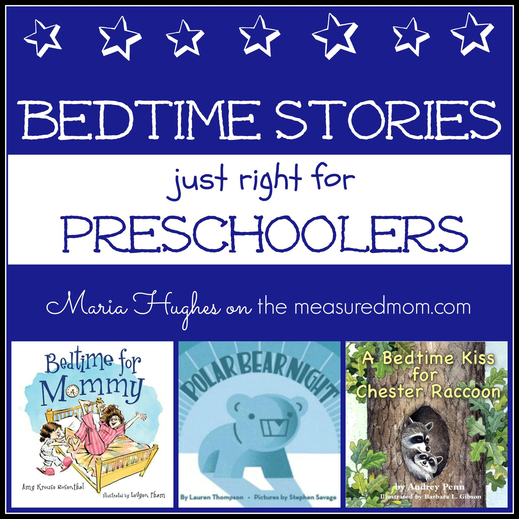 5 Bedtime Stories For Preschoolers - The Measured Mom - Free Printable Stories For Preschoolers