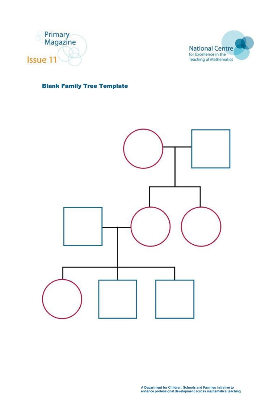 50+ Free Family Tree Templates (Word, Excel, Pdf) ᐅ Template Lab - Free Printable Family History Forms