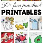 50+ Free Preschool Printables For Early Childhood Classrooms   Free Printable Early Childhood Activities