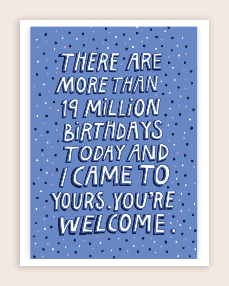 50 Funny Birthday Card Ideas – Learn - Free Printable Greeting Cards For All Occasions