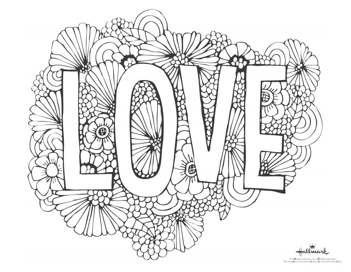 543 Free, Printable Valentine's Day Coloring Pages - Free Printable Valentine Decorations