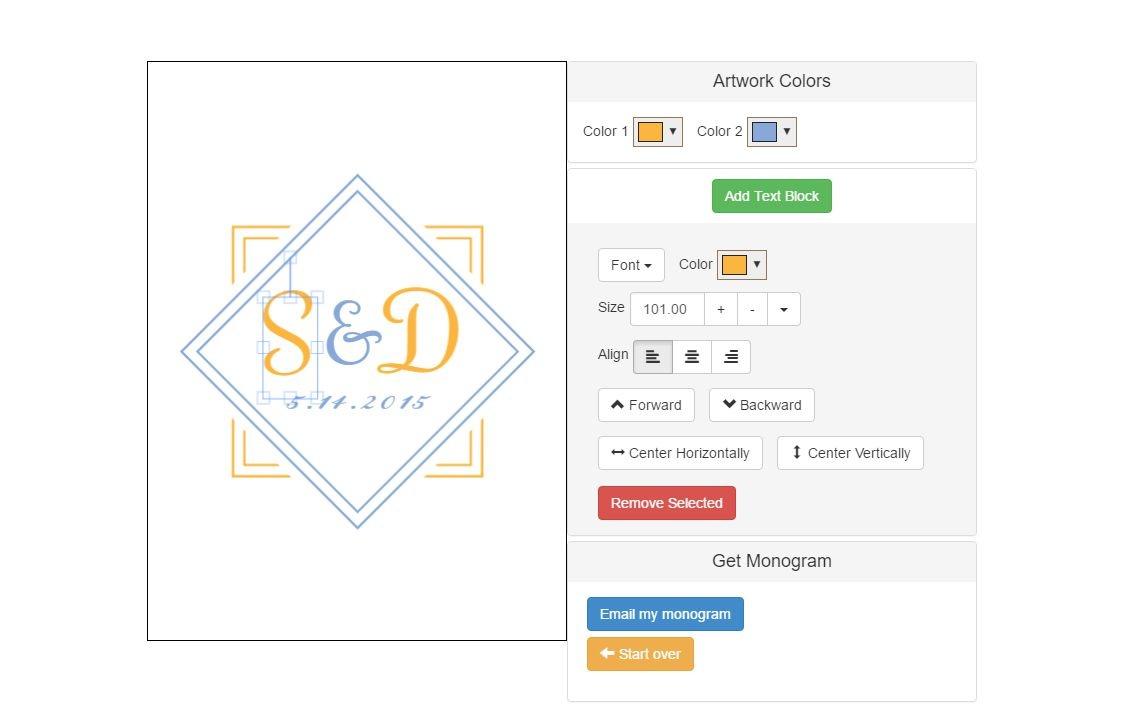 6 Free Monogram Makers And Generators - Monogram Maker Online Free Printable