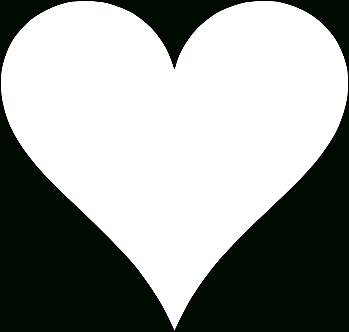 6 Free Printable Heart Templates | Hearts | Printable Heart Template - Free Printable Hearts