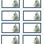 7 Images Of Free Printable Christmas Labels | Unit: Christmas   Free Printable Holiday Labels