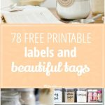 78 Free Printable Labels And Beautiful Tags – Tip Junkie   Spa In A Jar Free Printable Labels