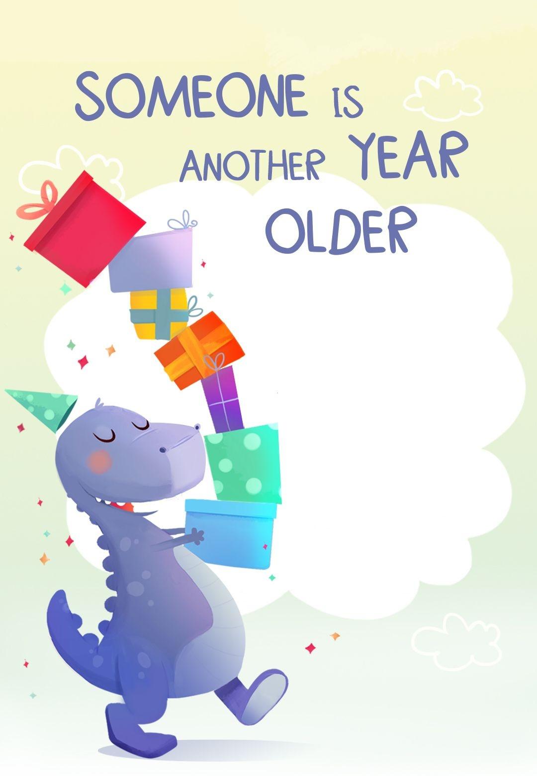 7Th Birthday Dinosaur - Free Printable Birthday Invitation Template - Free Printable Dinosaur Birthday Invitations