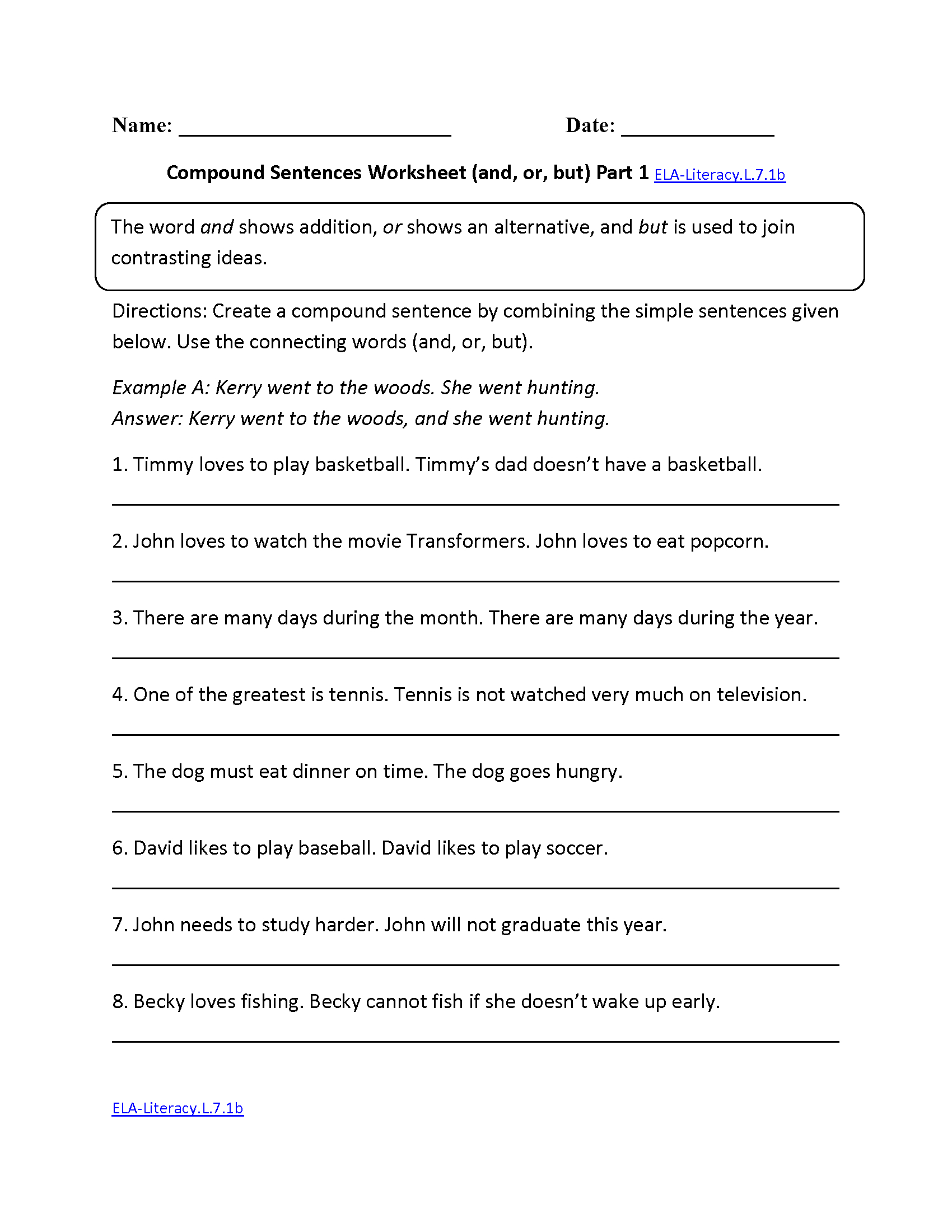 7Th Grade Common Core   Language Worksheets - Free Printable 7Th Grade Vocabulary Worksheets