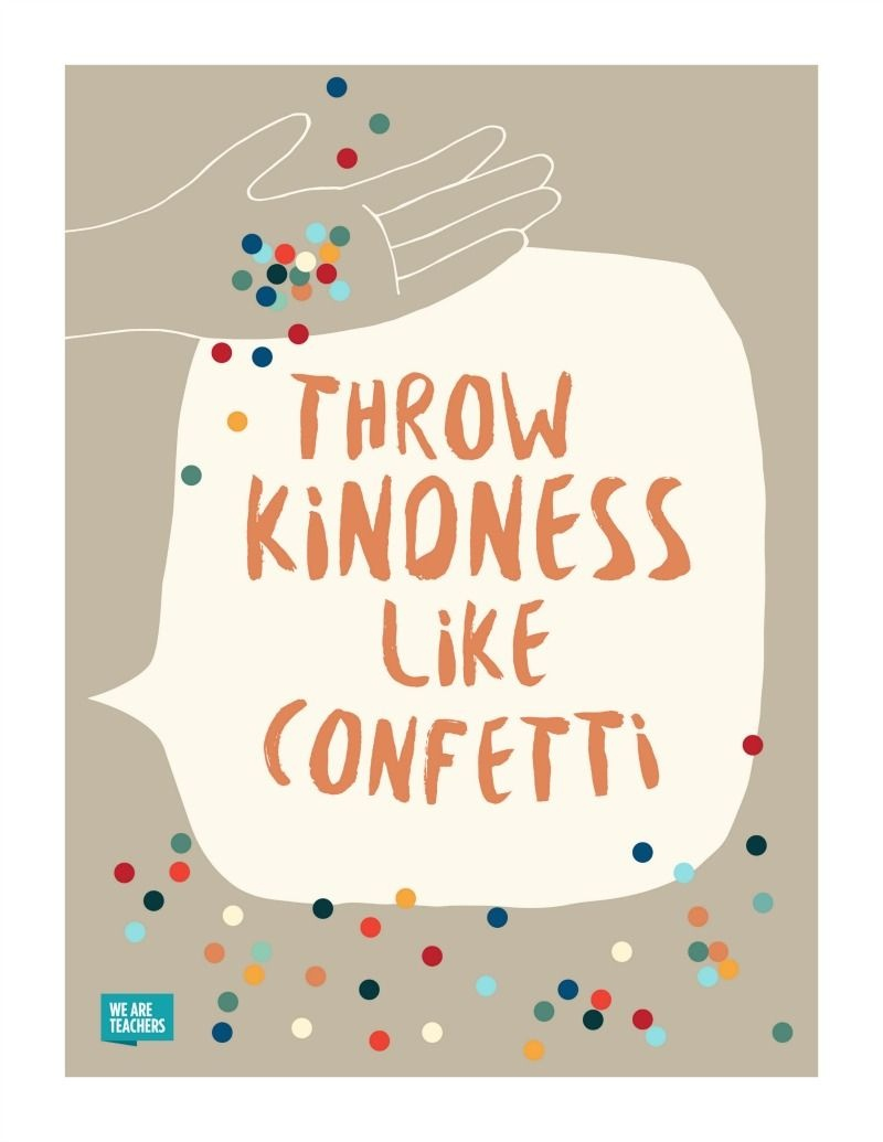 8 Free Kindness Posters To Help Spread The Love In Your Classroom - Free Printable Educational Posters