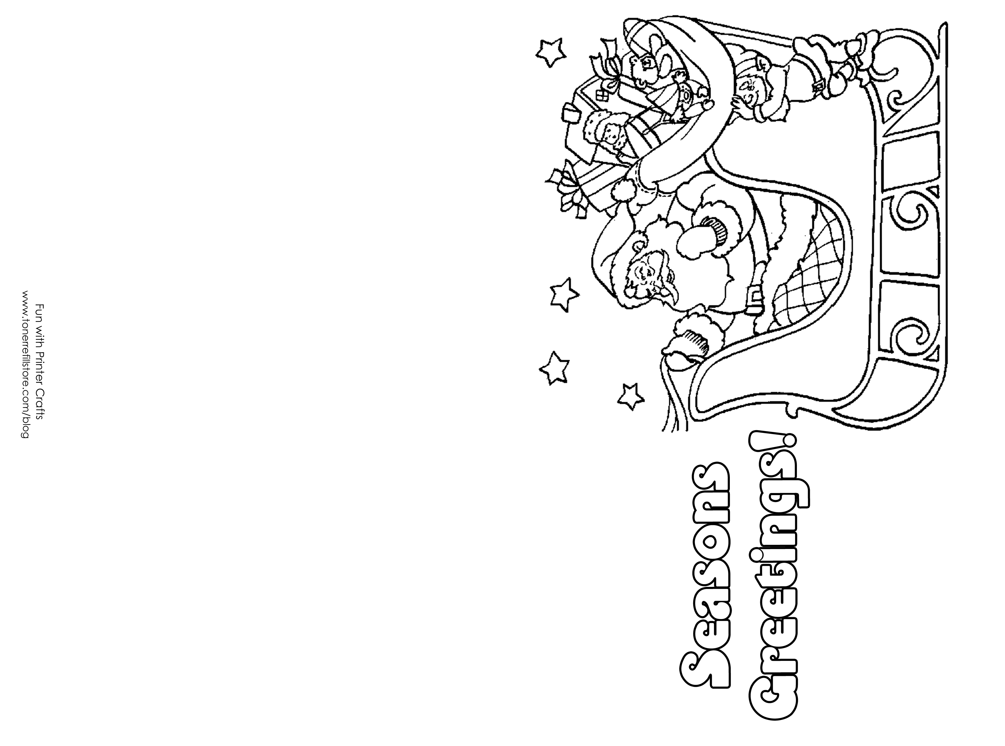 8 Images Of Printable Christmas Cards To Color | Unit: Christmas - Free Printable Xmas Cards Online