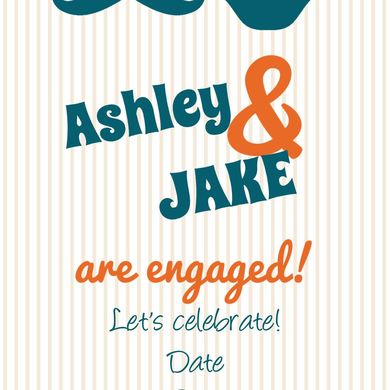 8 Printable Engagement Party Invitations - Free Printable Engagement Invitations