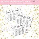 "9 ""bring A Book Instead Of A Card"" Baby Shower Invitation Ideas   Free Printable Book Themed Baby Shower Invitations"