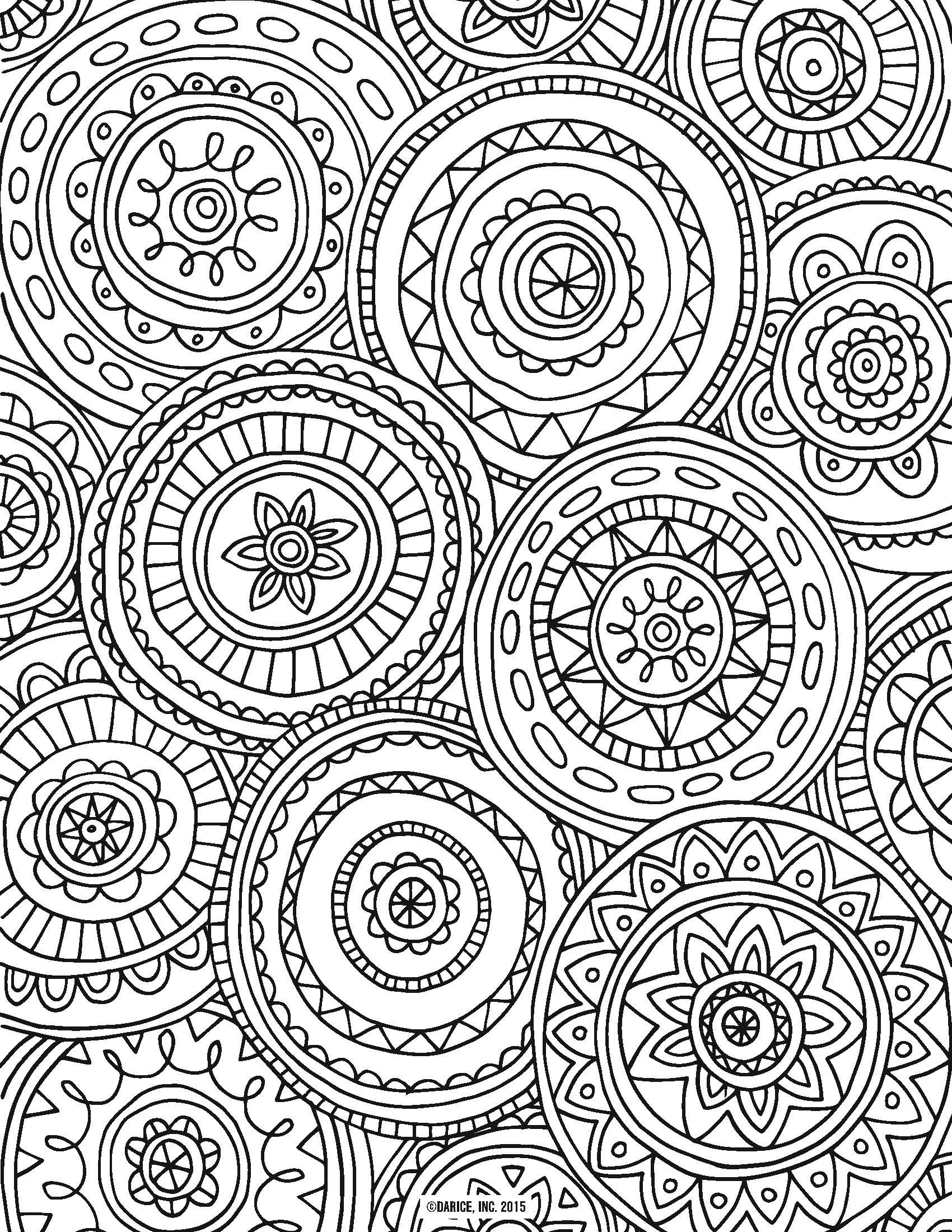 9 Free Printable Adult Coloring Pages | Pat Catan's Blog - Free Printable Coloring Pages For Adults Only