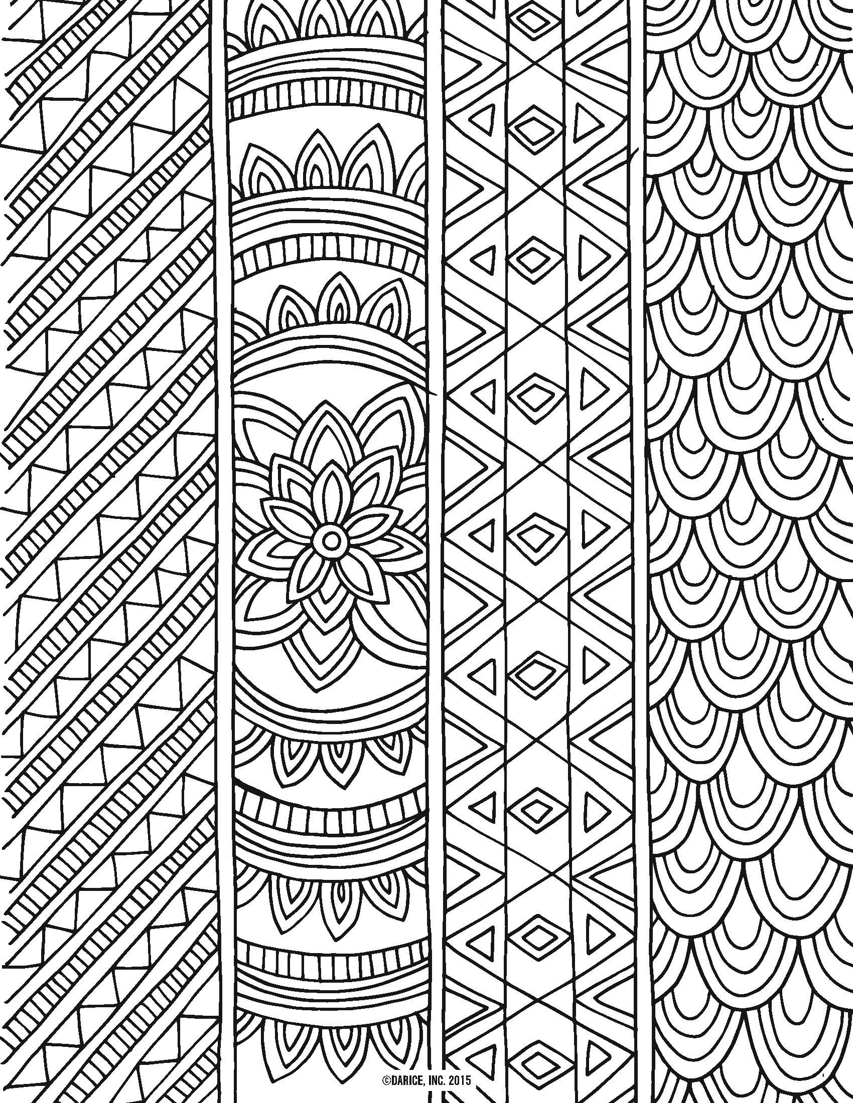 9 Free Printable Adult Coloring Pages | Pat Catan's Blog - Free Printable Coloring Pages For Adults