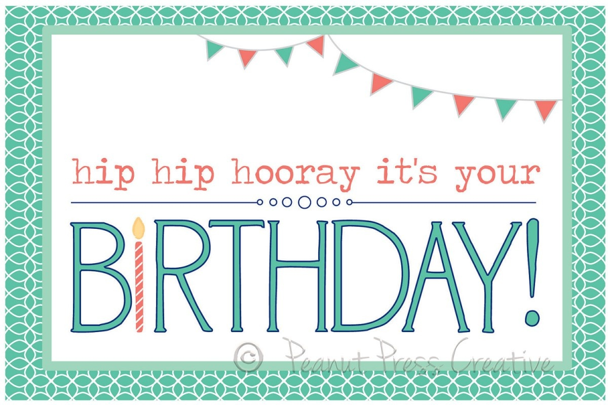 97+ Birthdays Cards To Print Free - Printable Birthday Card Maker - Make Your Own Printable Birthday Cards Online Free