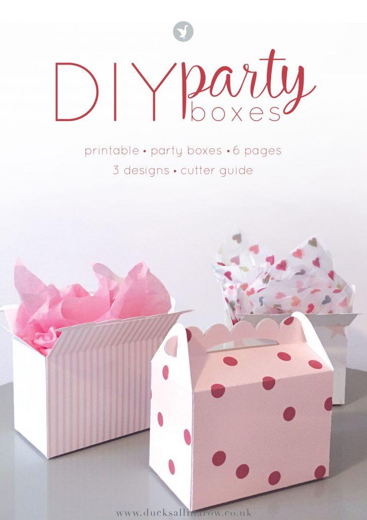 Printable Box Templates Free Download