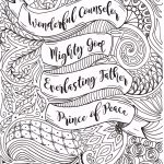 Adult Christmas Coloring Page Christianfourthavepenandink   Free Printable Bible Christmas Coloring Pages