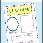 All About Me Preschool Theme   Free Printable Early Childhood Activities