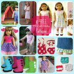 American Girl Doll 10 Free Patterns For Cute Clothing And Accessories   American Girl Clothes Patterns Free Printable