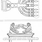 Ark Of Covenant And Lampstand From The Tabernacle And Temple   Free Printable Pictures Of The Tabernacle