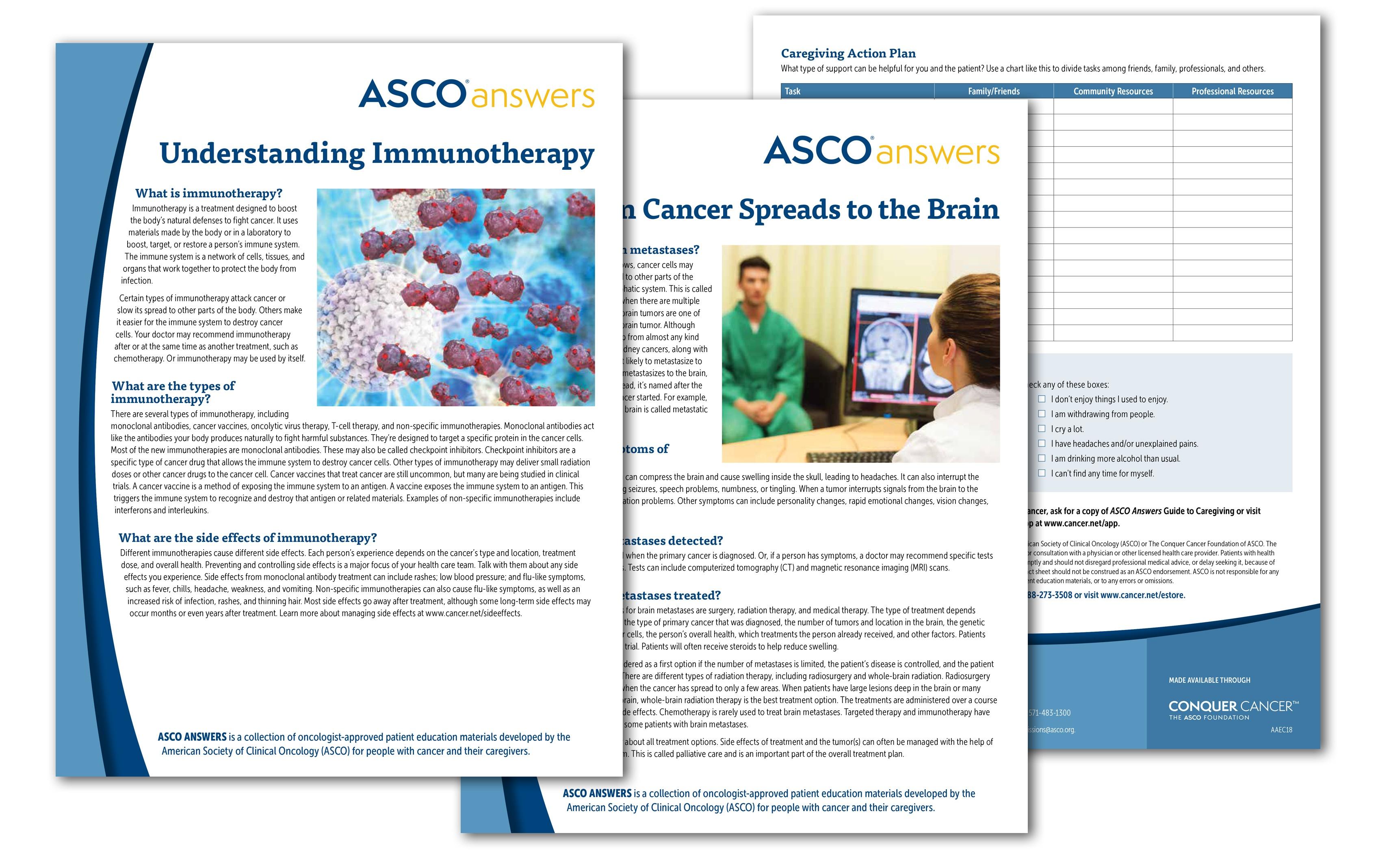 Asco Answers Patient Education Materials | Cancer - Free Printable Patient Education Handouts