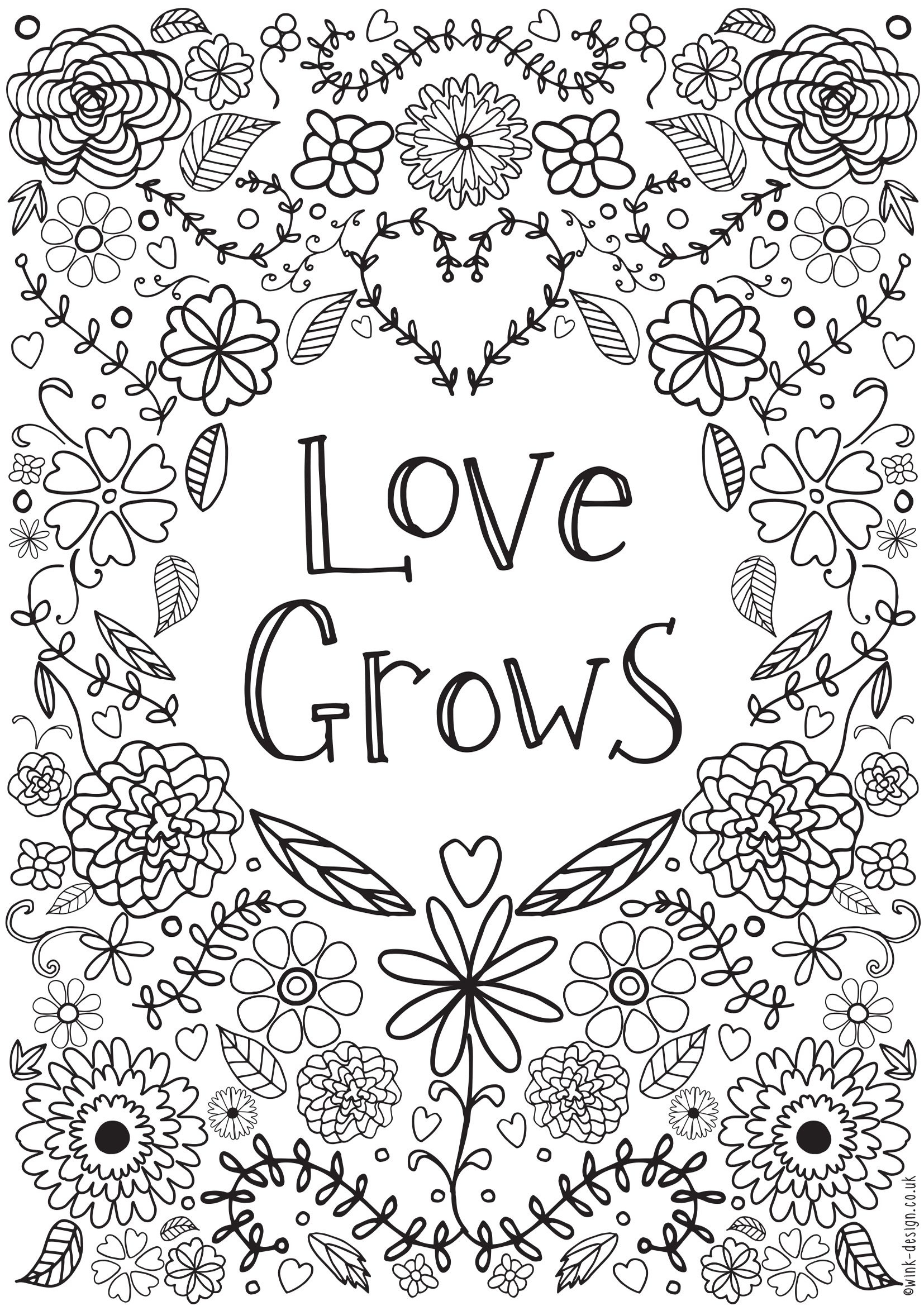 Awesome Free Printable Quote Coloring Pages For Adults   Coloring Pages - Free Printable Inspirational Coloring Pages