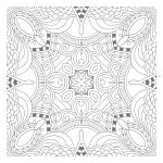Awesome Free Printable Zentangle Templates : Coloring Pages   Free Printable Zentangle Templates