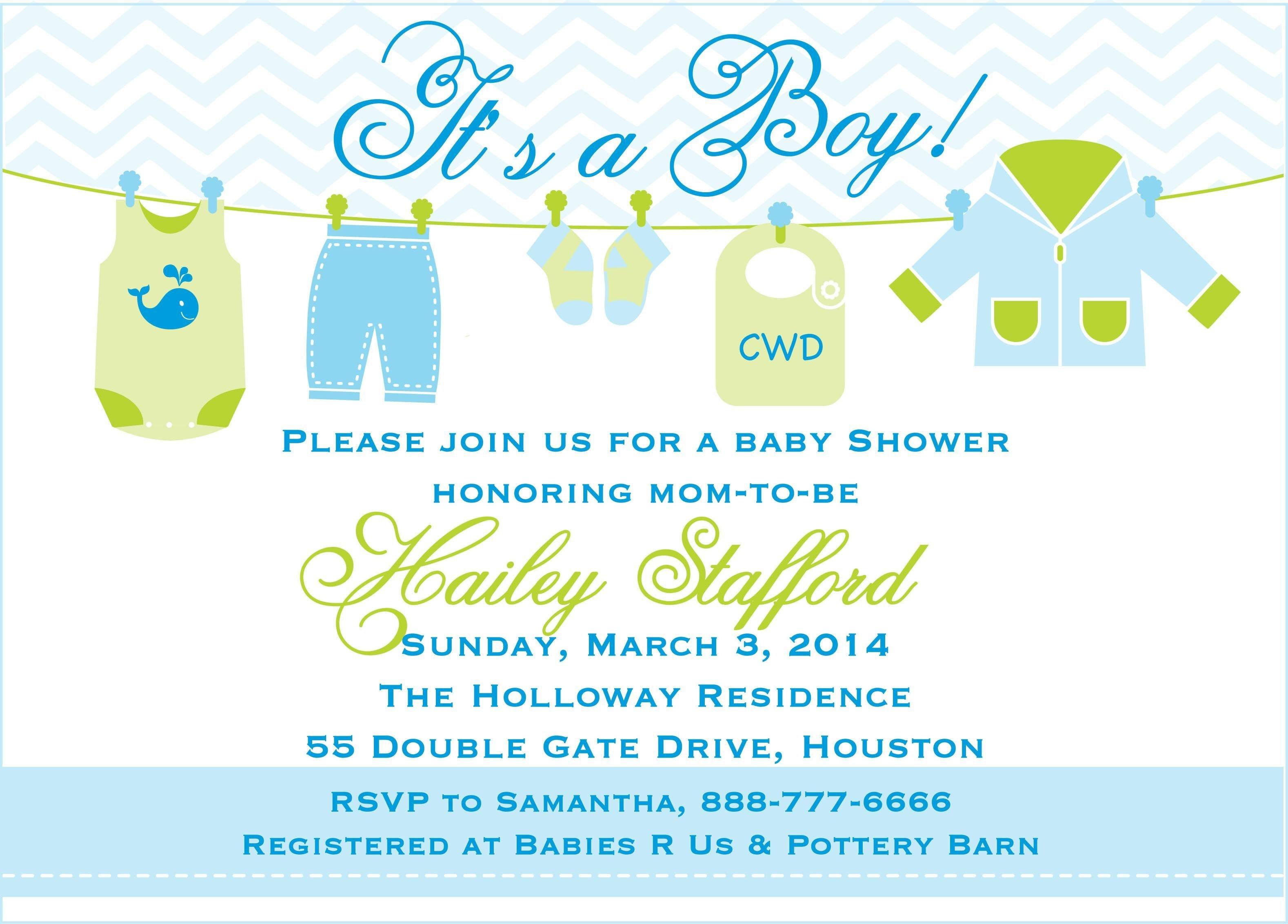 Baby Boy Shower Invitations Templates Free | Baby Shower In 2019 - Free Baby Shower Invitation Maker Online Printable