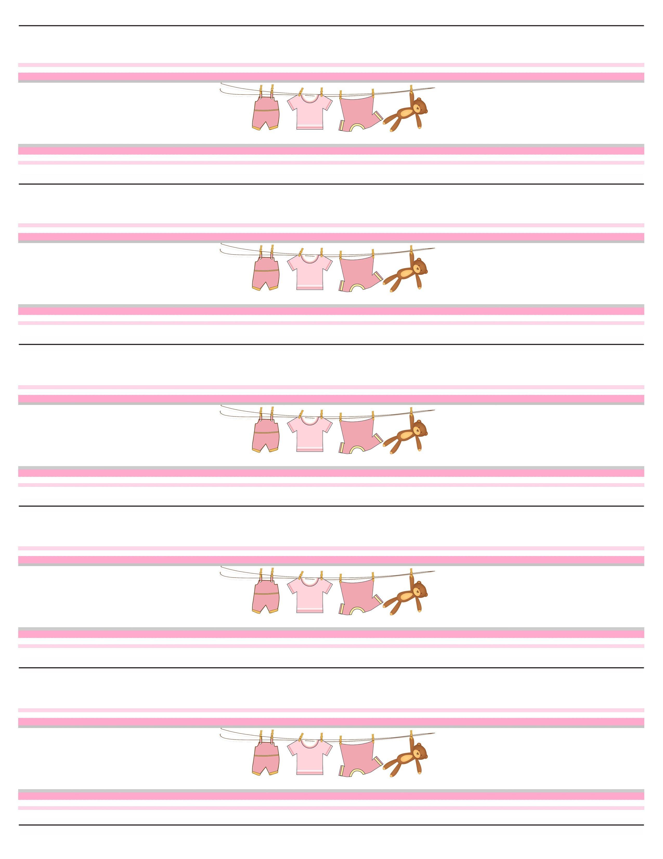 Baby Girl Shower Free Printables | Baby Shower | Arrivée De Bébé - Free Printable Water Bottle Labels For Baby Shower