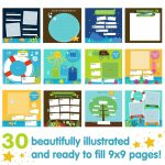 Baby Journal Template   Kaza.psstech.co   Free Printable Baby Journal Pages