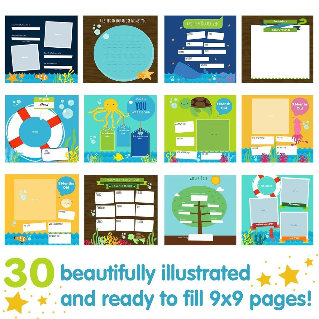 Baby Journal Template - Kaza.psstech.co - Free Printable Baby Journal Pages