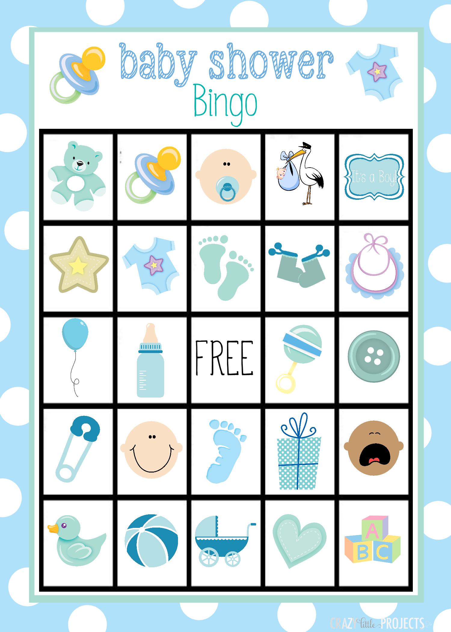 Baby Shower Bingo Cards - Free Printable Baby Shower Bingo Cards Pdf