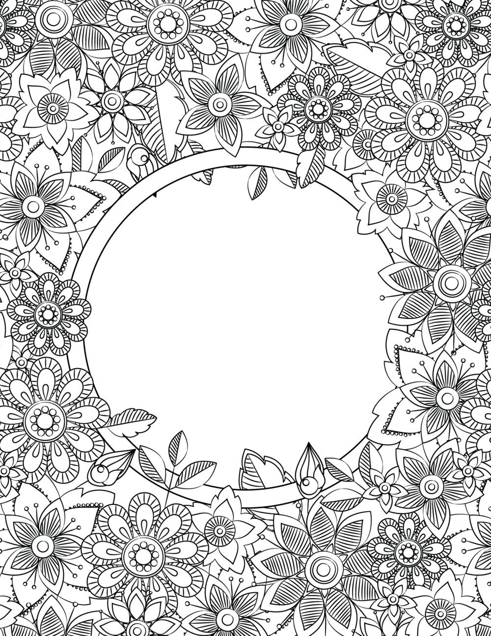 Back To School Binder Cover Adult Coloring Pages | Printables - Free Printable Binder Covers To Color