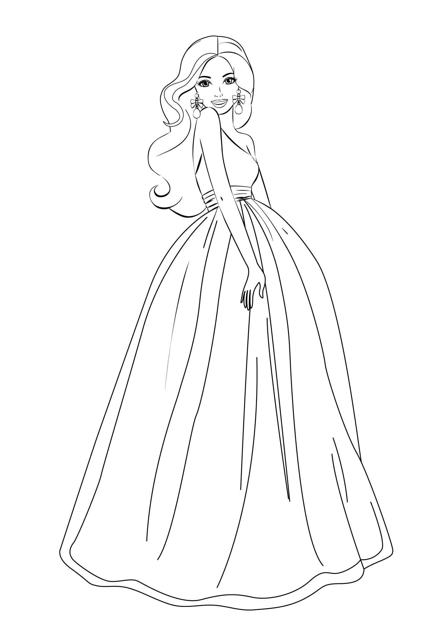 Barbie Coloring Pages For Girls Free Printable | Barbie | Barbie - Free Printable Barbie Coloring Pages