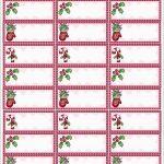 Beautiful Christmas Address Labels Free Templates | Best Of Template   Free Printable Christmas Address Labels Avery 5160