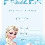 Beautiful Free Printable Frozen Invitations Templates | Best Of Template   Free Printable Frozen Birthday Invitations